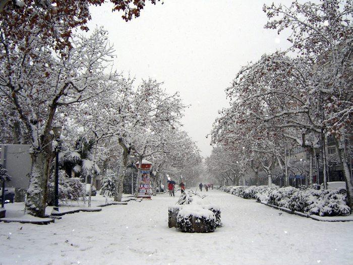 Neu sobre el terra