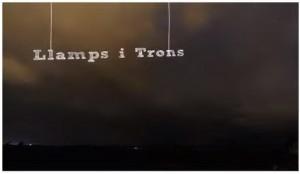 Llamps i trons